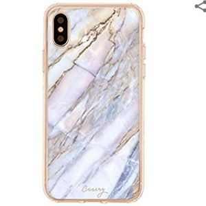 Casery Iphone X Shatter Marble Case